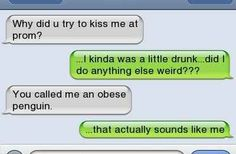The person who understands how they might come across. | 19 Texts That Prove Drunk People Are The Absolute Worst