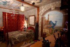 castle bedroom medieval fantasy rooms room mural themed queen bedrooms boys