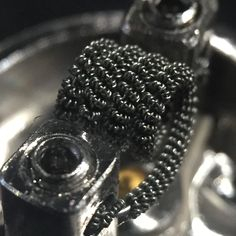 Here it is, I call this chain mail because it looks like it. Mini Clapton (42over36) claptoned over 32. Haven't seen much of anything like this because it requires a lot of clapton #vape #vapor #vapel1fe #vapejunky #vapenj #vapeshop #vapeaddict #vapepics
