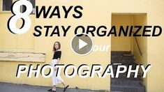 8 Tips for Staying Organized in Your PHOTOGRAPHY BUSINESS http://videotutorials411.com/8-tips-for-staying-organized-in-your-photography-business/ #Photoshop #adobe #lightroom #graphicdesign #photography