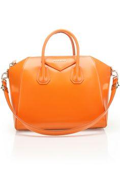 Givenchy Medium Antigona Handbag in Orange - Beyond the Rack