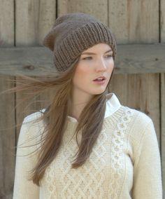 Knitted Beanie Novita Suomivilla (Finnwool) | Novitaknits