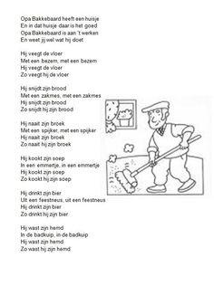 Dutch Language, My Youth, Kids Songs, Piano Music, Make Me Smile, Childhood Memories, Feel Good, Worksheets, Poems