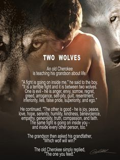 Two Wolves Quote Gallery 2 wolves inside u inspirational quotes wolf quotes Two Wolves Quote. Here is Two Wolves Quote Gallery for you. Two Wolves Quote tale of two wolves wolf quotes inspirational quotes quotes. Two Wolves Qu. Wolf Quotes, Me Quotes, Motivational Quotes, Inspirational Quotes, Wolf Poem, Pagan Quotes, Great Quotes, Quotes To Live By, Native American Wisdom