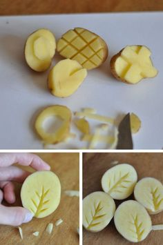 Arts and Crafts with Potatoes