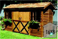 Original Sheds | Cedar Shed 8x16 by Cedarshed | Cedar Shed Sale