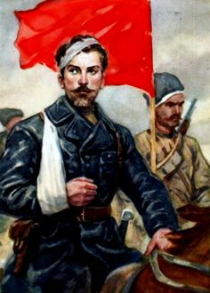 Red Army on the march, Civil War