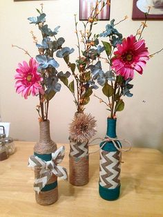 Intelligent Ways to Use Your Old Wine Bottles (10)