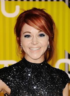 Lindsey Stirling at the 2015 MTV Video Music Awards. http://beautyeditor.ca/2015/09/04/mtv-video-music-awards-2015