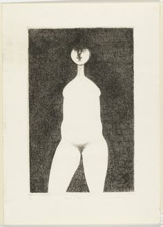 "Standing Nude  Gregory Masurovsky (American, born 1929)    1967. Etching, plate: 21 1/2 x 13 7/8"" (54.6 x 35.2 cm); sheet: 27 13/16 x 19 7/8"" (70.7 x 50.5 cm). Gift of the artist. © 2012 Gregory Masurovsky / Artists Rights Society (ARS), New York / ADAGP, Paris"