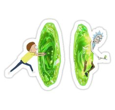 rick and morty portals • Also buy this artwork on stickers.