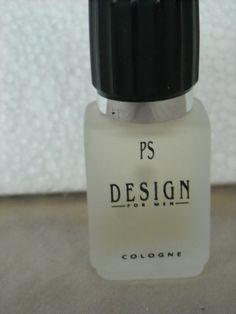 PS DESIGN For Men  Cologne Splash Full .25 Bottle No Box Paul Sebastian #PaulSebastian
