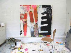 to go into the world : the artwork of mae chevrette: inspired by: line juhl hansen