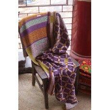 """Sari Bari Blanket!  All hand stitched and all beautiful!  36"""" X 80""""  $89"""