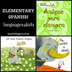 Great Spanish language picture books and #Spanishforkids curricula Elementary+Spanish:+Languages4Kidz