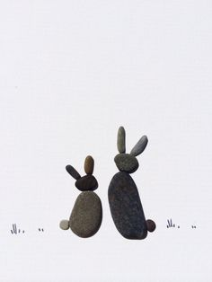 Pebble art by sharon nowlan  by PebbleArt on Etsy, $99.00