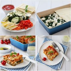 Vegetarian lasagne, easy to make and very tasty :)