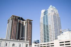 Downtown Orlando Skyscrapers. 55 West.