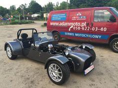 Polish Lotus7 kit car with Suzuki Hayabusa engine