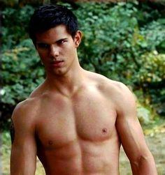 jacob black I just want to say I'd eat him up but the thought of his nipple is in the way