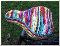 Cobertores para asientos de bicicletas. Bicycle seat cover.