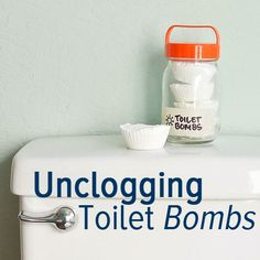 Unclog your toilet without a plunger with these toilet bombs!