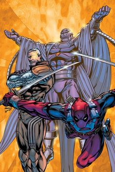 #Deadpool #Fan #Art. (Cable and Deadpool Vol.1 #27 Cover) By: Patrick Zircher. (COMIC ÅWESOMENESS!!!™)