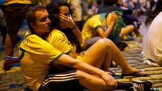 Brazil did not deserve this :( So sad about all the players and fans.  #brazil #worldcup #fifaworldcup