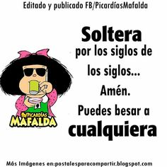 #Mafalda Mafalda Quotes, Qoutes, Funny Quotes, Funny Phrases, Love You, My Love, Spanish Quotes, Good Thoughts, Wise Words