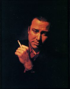 "Bill Hicks - ""Don't worry. Don't be afraid, ever, because this is just a ride."" This was/is one of my favorite people!"