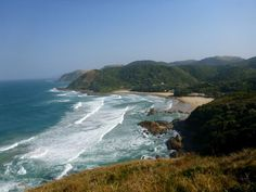 Beautiful beaches of Port St Johns South Africa. South Africa Beach, Africa Destinations, Nelson Mandela, Snorkeling, Beautiful Beaches, Places To Go, Around The Worlds, Island, Adventure