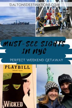 Looking to spend the weekend in NYC? Here is a guide and must-see sites of the city! New York City Map, New York City Travel, Weekend Trips, Weekend Getaways, Times Square New York, Travel Plan, Night City, Road Trip Usa, City Buildings