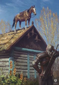 Geralt & Roach, Witcher 3