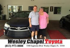 #HappyBirthday to Kevin And Darlene from Amanda Baron at Wesley Chapel Toyota!  https://deliverymaxx.com/DealerReviews.aspx?DealerCode=NHPF  #HappyBirthday #WesleyChapelToyota