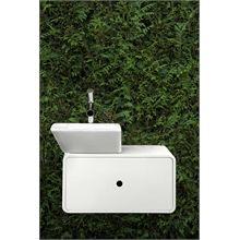 Alessi Dot Vegghengt servant 450x330 mm, Med skjult avløpssystem Alessi, Sink, Dots, Design, Home Decor, Sink Tops, Stitches, Vessel Sink, Decoration Home