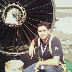 Laser Airlines MD-82 JT8D engine change mechanic @serpinjm