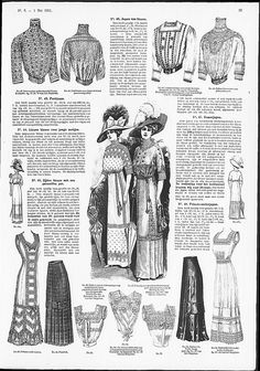 corset-cover style brassieres from 1911 De Gracieuse