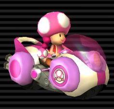 Toadette (Light Weight) Jet Bubble