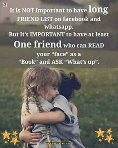 Friendship Quotes-It is not important to have log friend list. Short Friendship Quotes, Quotes Distance Friendship, Best Friendship, Inspirational Friendship Quotes, Friendship Quotes For Girls Real Friends, Meaningful Friendship Quotes, Frienship Quotes, Friendship Messages, Friendship Images