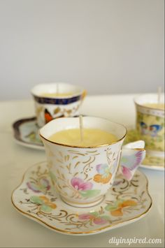 DIY Scented Teacup C