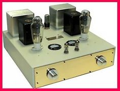 ValveMark 300B triode SET audiophile valve tube amplifier single ended Class-A