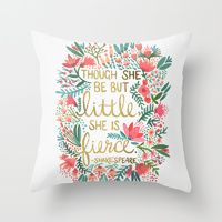 Throw Pillows | Society6 @mindy_duell for hens