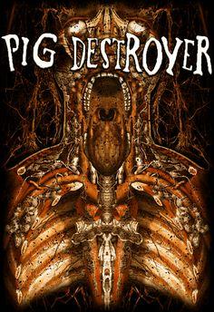 PIG DESTROYER 'Inhuman' by ryankasparian on DeviantArt