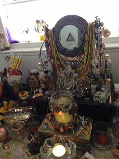 Oshuns Altar - 08-02-2013