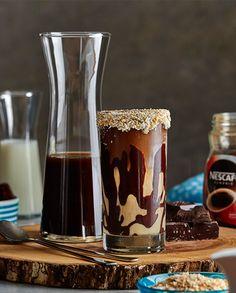 Milkshake de Nescafé e Chocolate