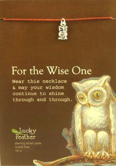 Pretty Moon Necklace Silver - Owl