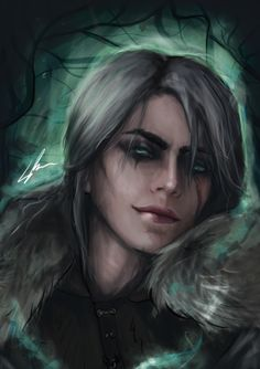 Ciri Digital painting i did based on game and cosplayer TophWei : witcher Witcher 3 Art, Ciri Witcher, The Witcher Books, The Witcher Wild Hunt, The Witcher 3, Creature Drawings, Animal Drawings, Character Portraits, Character Art