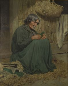 Test The widow (Harata Rewiri Tarapata, Ngapuhi) - Ngā Toi Arts Te Papa Maori People, New Zealand Landscape, Maori Designs, Nz Art, Renaissance Era, Portrait Art, Portraits, Kiwiana, Amazing Paintings