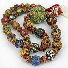 Fine Collection of Ancient World Mosaic Glass Beads