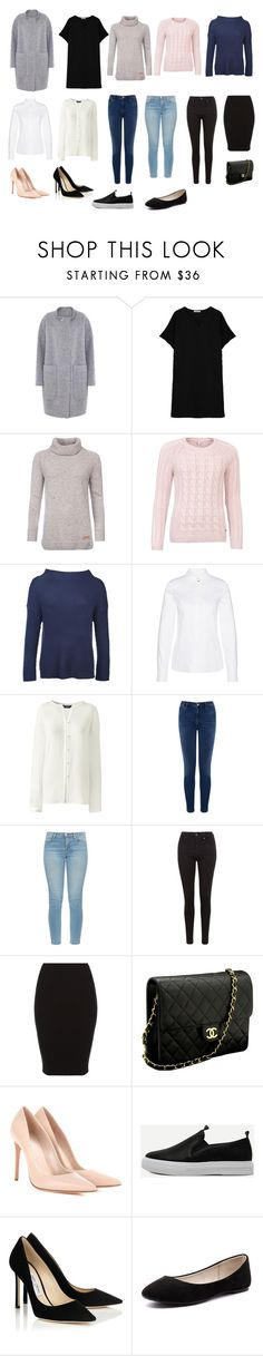 """""""13"""" by alena-stehova on Polyvore featuring мода, D.Efect, Barbour, Barbour International, Lands' End, Warehouse, J Brand, Levi's, Chanel и Alexander McQueen"""